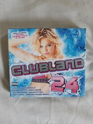 Clubland 24 by Various Artists (CD, Nov-2013, 3 Discs