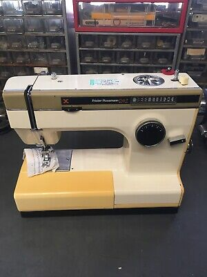 Frister Rossmann Cub 7 Semi Industrial Zig Zag Sewing Machine, Serviced, Case.