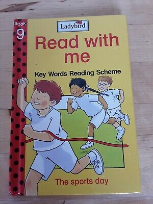LADYBIRD Key Words, Read With Me Book 9, The sports day