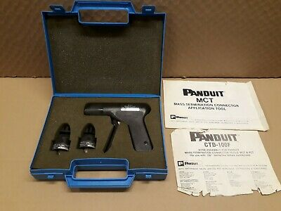 Panduit CDT-100F Cable Tie Gun Tool Controlled Tension And Cut-Off