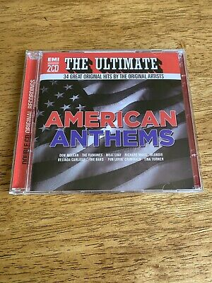 Various Artists - The Ultimate American Anthems - 2 X CD