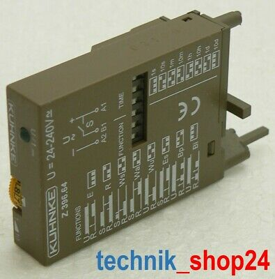 Kuhnke Multifunction Time Relay Z369.64 New