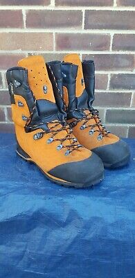 Haix Protector Forest Chainsaw Boots Size 9