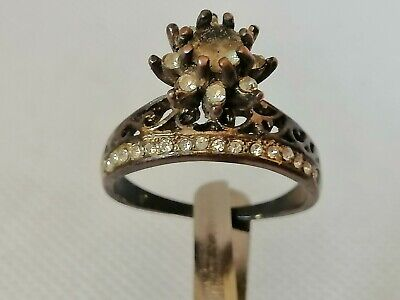 Rare Extremely Ancient Old Ring Bronze Legionary Roman Ring Bronze Authentic