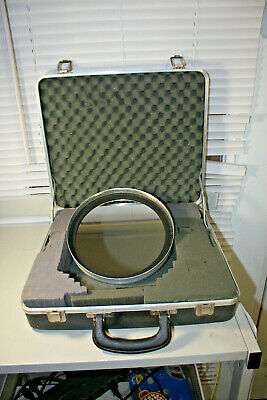 C8 Glass and Metal White Light Solar Filter with Padded Hard Case