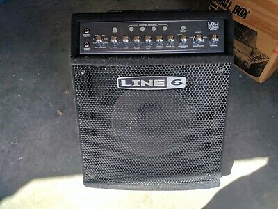 Line6 LD150 Low Down Bass Guitar Amplifier Amp With Effects