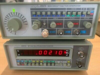 Maplin Precision Gold M205 Sweep Function Generator MF1000 Multifunction Counter