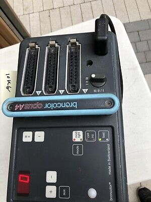 Broncolor Opus A4 3200WS 3 Port Power Pack good condition #038