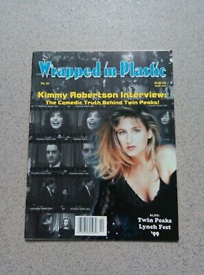 Twin Peaks Wrapped In Plastic Magazine Issue 43 October 1999 Kimmy Robertson