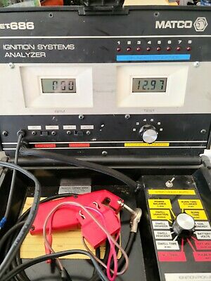 Matco Ignition Systems Analyzer with instruction manual