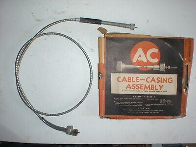 NOS Speedometer Cable & Housing 1937 1938 Cadillac & Pontiac , 37 LaSalle