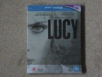 LUCY - Zavvi UK Exclusive Limited Edition STEELBOOK Bluray, New & Sealed