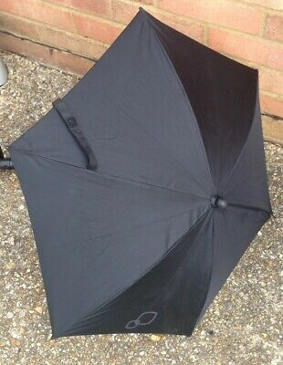 Quinny Buzz Moodd Parasol Umbrella With Clip - Black