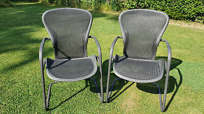 2 x Herman Miller Aeron Guest Chair
