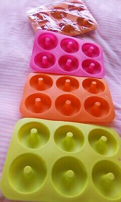 One pack Three silicone donut ring mould mold