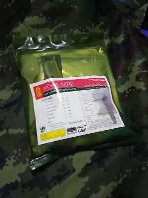 Genuine Royal Thai Army Mre Field Rations Single Meal Panaeng Curry With Chicken