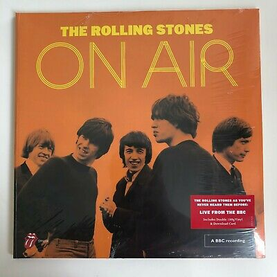 The Rolling Stones - On Air Live BBC Sessions 2LP Vinyl Record [NEW/SEALED]