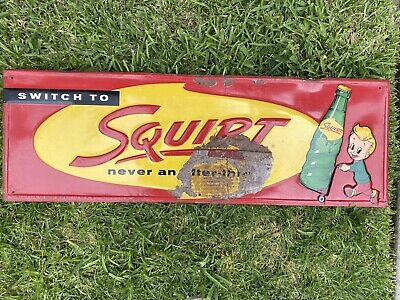 Squirt Soda Sign