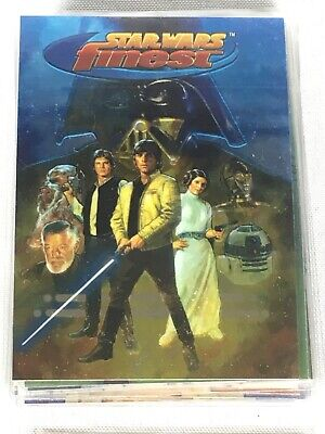 Topps Star Wars Finest Trading Cards (1996) - Complete Your Collection 1- 90