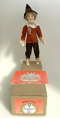 Helen Kish Vinyl Doll Scarecrow Wizard of OZ 1996 Limited Edition