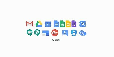 Google G Suite BUSINESS Account with your  own domain name