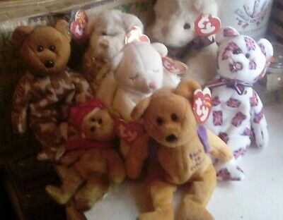 TY beanie babies bears collection/bundle