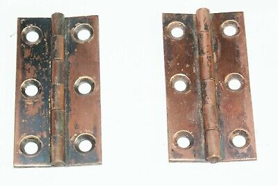 A Pair of Victorian / Edwardian Copper Hinges