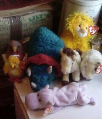 TY beanie babies animal collection/bundle