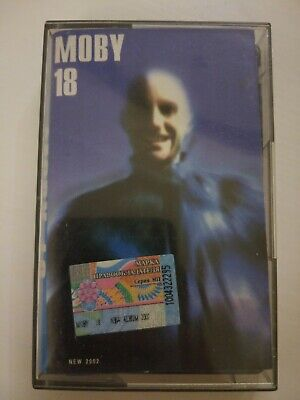 Moby - 18 Cassette Tape VERY RARE Russian Edition