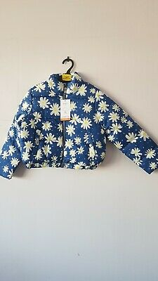 Girls Padded Coat Age 7-8 Years From Mark's and Spencer Brand New