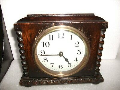 Japy Frere (French) 30 Hour Desk Clock. Working Order. C1910/20.