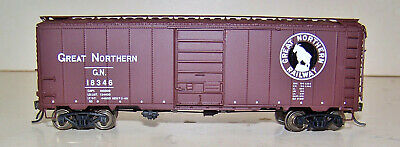 Champ HO NH New Haven 40/' Black Boxcar w//Large White NH HB-311