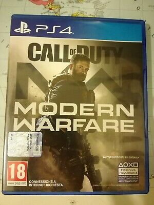 Call of duty modern warfare ps4 GAME PROTECTION