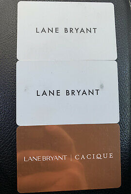 $102.23 Lane Bryant Gift Card Lot- Physical Cards (Catherine's)