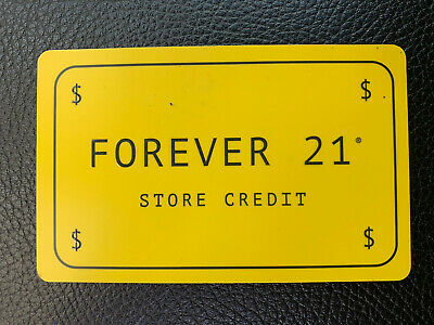 $85.85 Forever 21 Gift Card - Physical Card