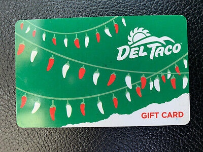 $50 Del Taco Gift Card - Physical Card