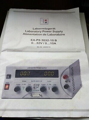 1 Channel  (32v/10A )Adjustable Bench Top Laboratory DC Power Supply