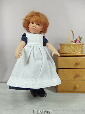 """1997 Helen Kish 12"""" Charlotte Doll Outfit Factory Leftover"""