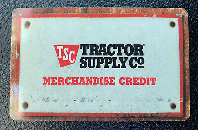 $32.46 Tractor Supply Co. Gift Card - Physical Card