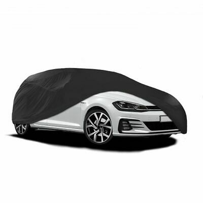 Rhinos-Autostyling FITS PREMIUM INDOOR BREATHABLE DUST PROOF BLACK FULL CAR COVER 130 GSM SOFT GARAGE SHOWROOM PORSCHE TAYCAN