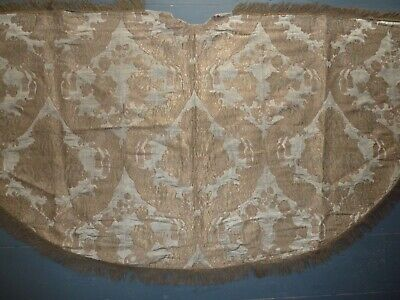 Striking antique cope, pluviale, gold brocade