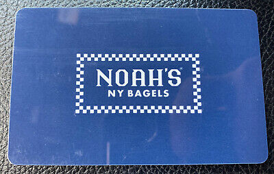 $60 Noah's New York Bagels Gift Card - Physical Card