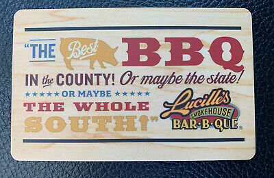 $50 Lucille's Smokehouse Barbecue Gift Card - Physical Card