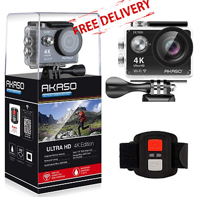 GoPro Action Camera 4K Sports Ultra HD Camcorder WiFi Waterproof Remote Control=