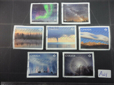 Astronomy & Weather Stamps 2 Sets Lot Aw1 from Canada