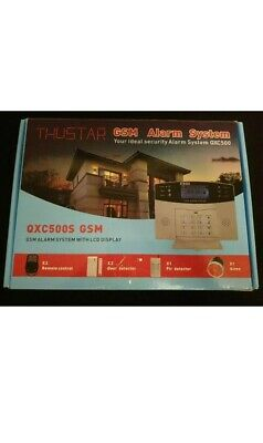 Thustar Professional Wireless Home Alarm System Remote GSM, ALARM HOME SECURITY