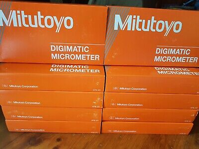 "Mitutoyo Digimatic Micrometer 0-1"", 0-25mm. 293-832-30!!Made In Japan"