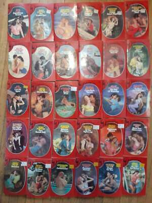 25 Harlequin Silhouette Desire Romance Novels Vintage Lot of Books #10