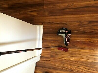 works odyssey 35 inch putter red