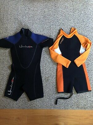 Henderson And Camaro Kids Wet Suits